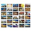 Beautiful Travel Scenery 30 PCS Artistic Retro Postcards-Paris