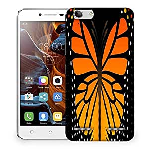 Snoogg butterfly 2759 Designer Protective Back Case Cover For Lenovo K5 Vibe