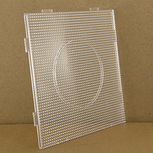 2.6mm big square pegboard for mini artkal fuse beads BCP01
