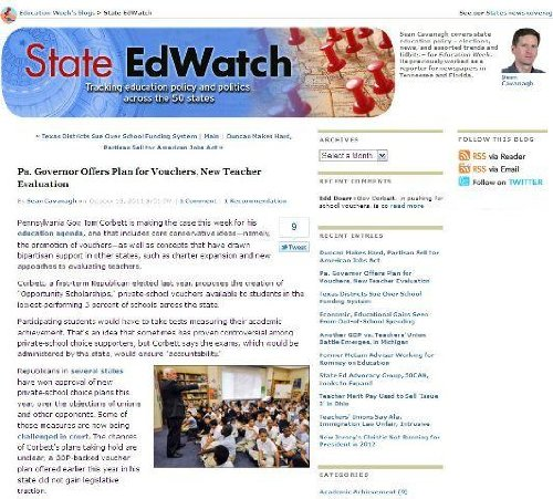 State EdWatch: An Education Week Blog
