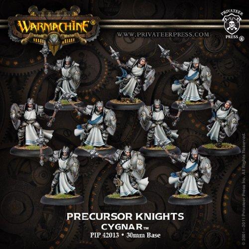 Cygnar Ally Precursor Knights Unit Box Resculpt PIP42013 Warmachine