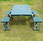 Portable Folding Camping Picnic Table...