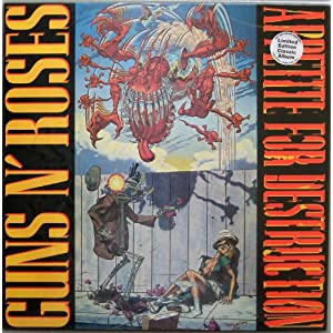 "Guns N' Roses "" Appetite For Destruction "" REMASTERED 100% Heavyweifgt Virgin Vinyl { AUDIOPHILE } LP. NEW, SEALED & Now Out Of Print"