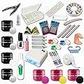 Kit de Manucure et Nail Art ultra complet - 24 accessoires dont lampe UV 36W et gels UV + gels de couleur - Sun Garden Nails par Sun Garden Nails