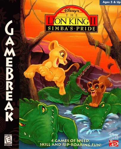 Disney'S Gamebreak! The Lion King Ii: Simba'S Pride front-916172