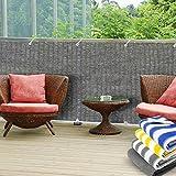 Balkon Sichtschutz UV-Schutz | 90x500cm | wetterbeständiges...