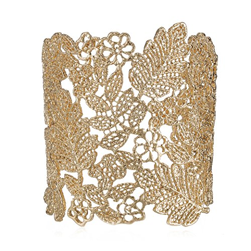emanco-adjustable-vintage-lace-wide-cuff-bangles-bracelets-for-women-gold-plated-jewelry