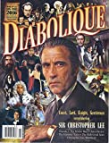 Diabolique Magazine (Issue 25 - January/March 2016 - Cover: Christopher Lee)