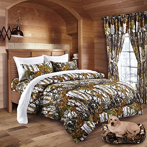 Best Buy! The Woods White Licensed Comforter - F/Q