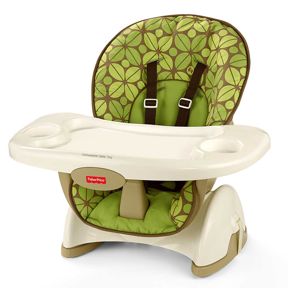 Fisher Price Space Saver High Chair Booster Seat Baby Furniture Child Stool N