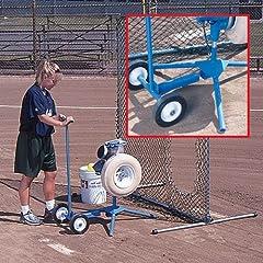 Jugs Super Softball Pitching Machine with Cart by Jugs