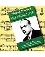 Barere:Regist.Dal Carnegie Hall Vol.3