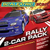 NEW SCALEXTRIC START C3139 RALLY TWIN CAR PACK