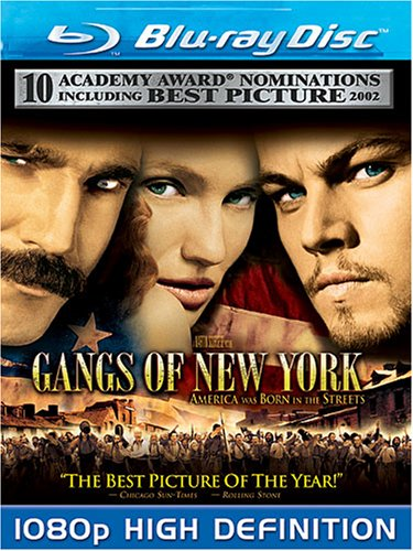 Cover art for  Gangs of New York [Blu-ray]