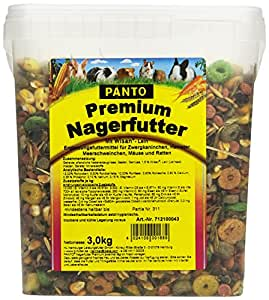 Panto Premium Nagerfutter, 2er Pack (2 x 3 kg)