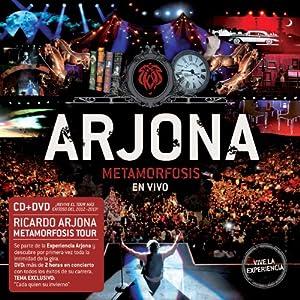 Arjona Metamorfosis en Vivo (CD + DVD)