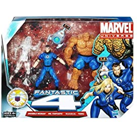 Fantastic 4 Marvel Universe Superhero Variant Action Figure 3 Pack