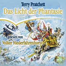 Das Licht der Phantasie: Ein Scheibenwelt-Roman Hörbuch von Terry Pratchett Gesprochen von: Volker Niederfahrenhorst