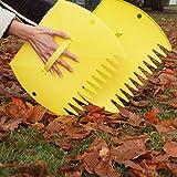 Gardenhome-Hand-Leaf-Rakes-Large-Size-Rakes-One-Pair