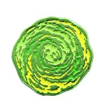 RICK AND MORTY Edition Portal Enamel Pin | 1.25 Inches Green (Color: Green, Tamaño: One Size)