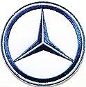 Mercedes Benz Racing Car Logo Jacket T-shirt Patch Sew Iron on Embroidered Badge Emblem Sign