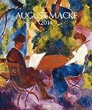 August Macke 2014. Kunst Art Kalender