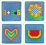 Steckspiel-Baukasten-Puzzle-aus-Kunststoff-mit-Bunt-Intelligentes-Spielzeug-fr-ab-3-Jahre-Alt-490pcs
