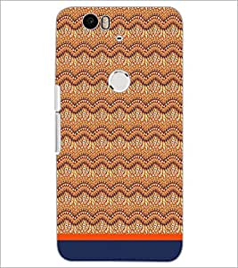 PrintDhaba Pattern D-1748 Back Case Cover for HUAWEI NEXUS 6P (Multi-Coloured)
