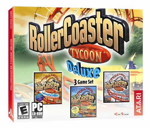 Rollercoaster Tycoon Deluxe (Jewel Case)