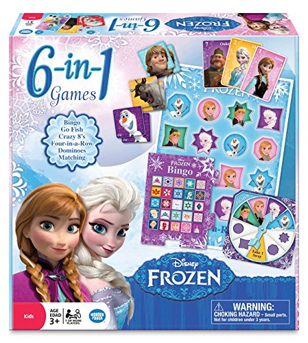 Frozen 6 In 1 Game Collection 0810558013069