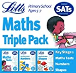 Letts Key Stage 1 Maths Triple Pack