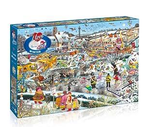 I Love Winter Jigsaw Puzzle (1000-Piece)