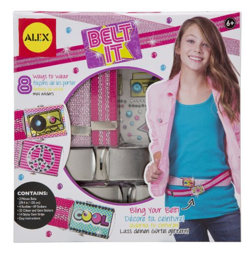ALEX Toys Do-it-Yourself Wear Belt It Bling Kit