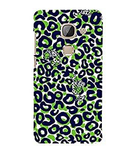 Cat Painting Cute Fashion 3D Hard Polycarbonate Designer Back Case Cover for LeEco Le Max 2 :: LeTV Max 2