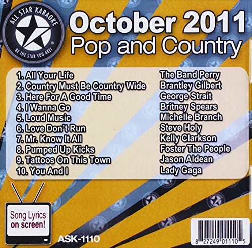 Foster The People - Karaoke: October 2011 Pop & Country - Zortam Music