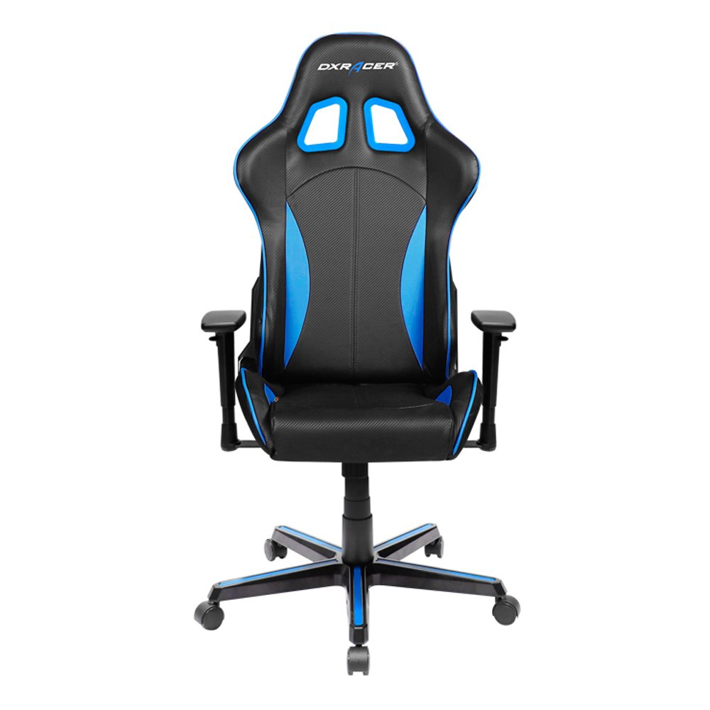 Best computer chair for gaming - Dxracer Formula Series Doh Fh57 Nb Newedge Edition Racing Bucket Seat Office Chair Pc Gaming Chair Computer Chair Vinyl Desk Chair With Pillows Black Blue