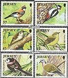 Gran Bretaña-Jersey 1472-1477 (completa.edición.) 2010 Aves del bosque (sellos para los coleccionistas)