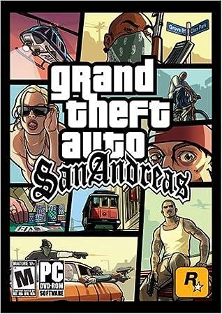 Grand Theft Auto: San Andreas ( DVD-ROM ) - PC