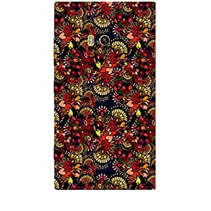 Skin4gadgets TROPICAL FLOWERS PATTERN 5 Phone Skin for LUMIA 920