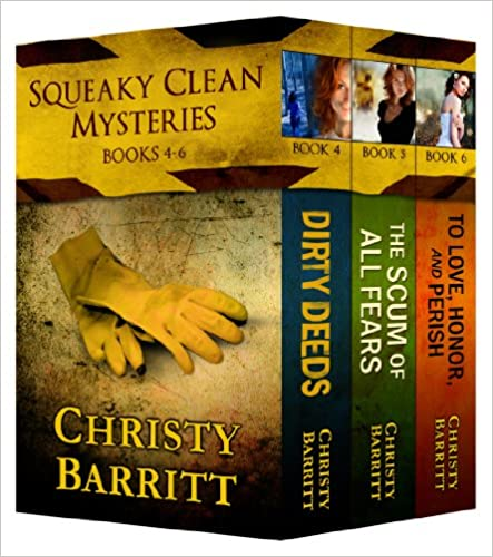 99¢ - Squeaky Clean Mysteries Book Bundle, Books 4-6