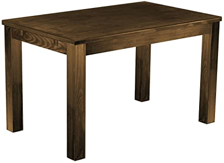 Brasil 'Rio' 130x 80cm, Antique Pine Wood Tone Oak Furniture Dining Table