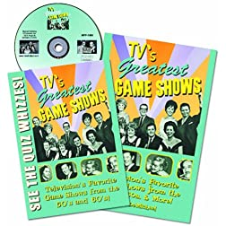 TV's Greatest Games Shows DVD and Book Combo