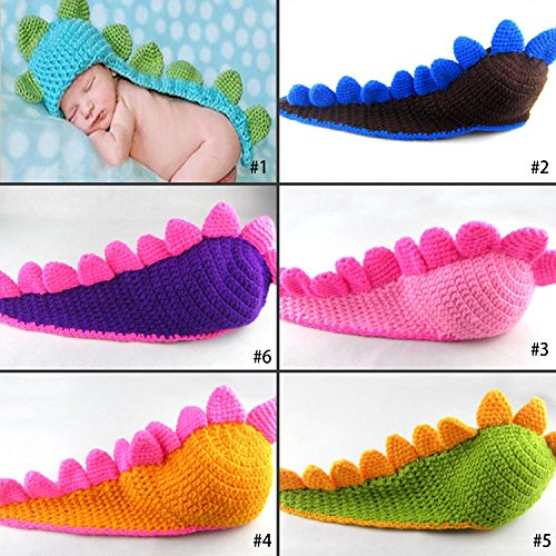 Kitron TM Photography Prop Unisex Baby Costume Crochet Knitted Mermaid Outfits
