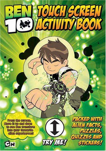 Ben 10 Touch Screen Activity Book