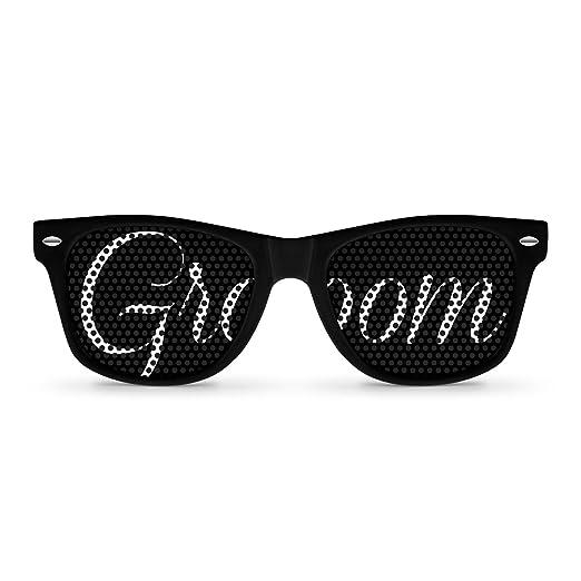 GROOM black Party Wayfarer Sunglasses