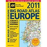 Big Road Atlas Europe 2011 SP (AA Atlases and Maps)by Automobile Association