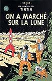 2010HERGE les aventures de Tintin: sur une marche sur la lune Poster...