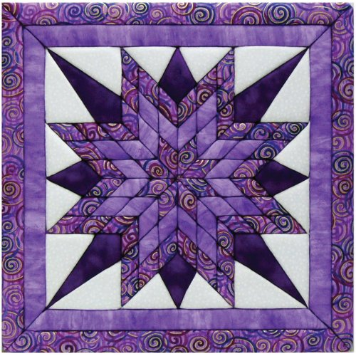 Quilt Magic 12-Inch by 12-Inch Starburst Kit