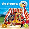 Die Playmos - Folge 9: Manege frei f�r die Playmos. H�rspiel. Empfohlen ab 5 Jahren