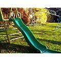 Green Crazy Wavy Slide